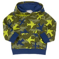 Hooded Camo Pullover