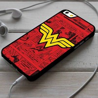 Wonder Woman Comics iPhone 4/4s 5 5s 5c 6 6plus 7 Case