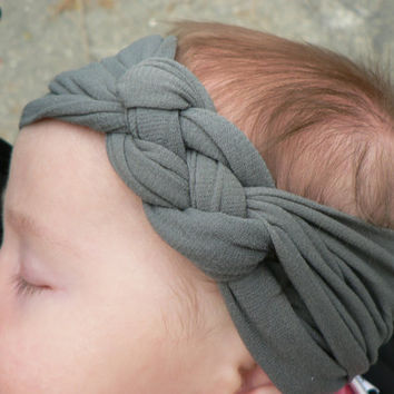 Newborn to Toddler  Knotted Headband Buff in Assorted Colors