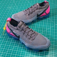 Nike Air Vapormax Flyknit 2.0 Gunsmoke Sport Running Shoes - Best Online Sale