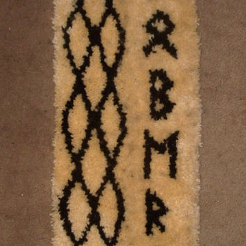 Hand-made Celtic Futhark Wall Hanging - ROBERT