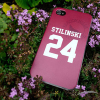 Teen Wolf STILINSKI lacrosse jersey iPhone 5 Case