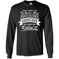 Men's World's Most Awesome Godfather T-Shirt