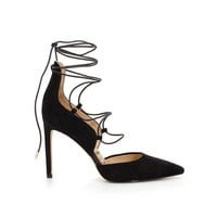 Helaine Suede Lace Up Pump