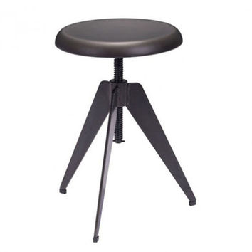 Zuo Modern Thales Bar stool (Antique Black)