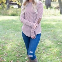 Striped and Patched Top - 3 Options