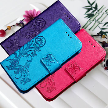 Original For Xiaomi Redmi 3 S 3S Mandala Flower Leather Phone Case Cover For Xiomi Redmi 3S 3 Pro Flip Wallet Bag Silicone Shell