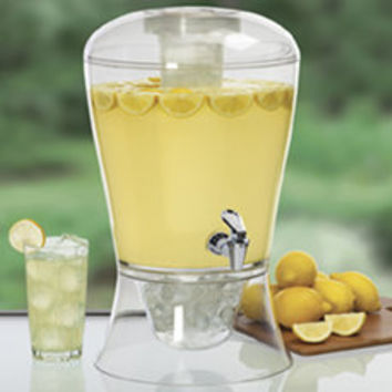 3-Gallon Beverage Dispenser with Cooling Cylinder - Bed Bath & Beyond