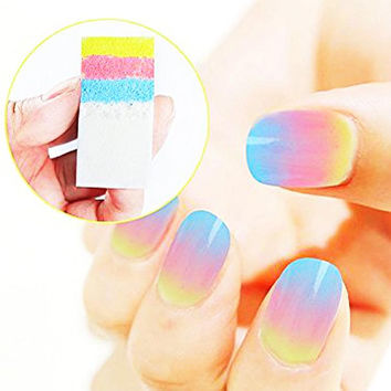 Nail Sponge Nail Art Tools Nail Decals DIY Nail Decoration