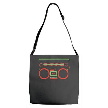 a tribe called quest   speaker hip hop the cutting edge Adjustable Strap Totes