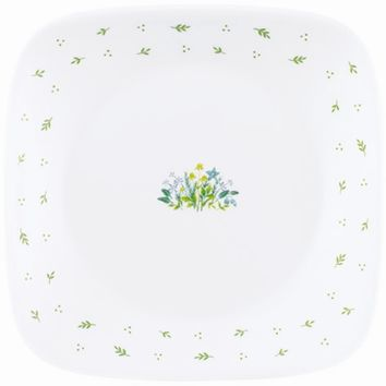 Corelle Herb Country Square Dinner Plate