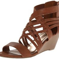 Madden Girl Women's Honi Wedge Sandal
