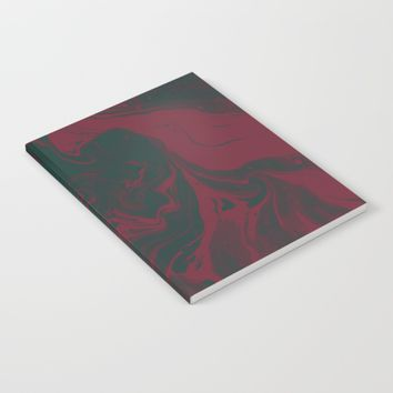 Cranberry and Evergreen Notebook by DuckyB