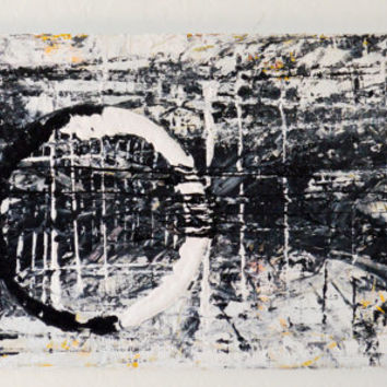 Momentous- an original abstract acrylic painting by FQ Studios, contemporary art, urban art, abstract art, acrylic art, black and white