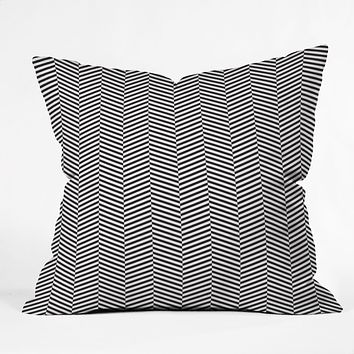 Three Of The Possessed Leaves Outdoor Throw Pillow