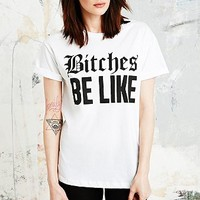 Married to the Mob B*tches Tee in White - Urban Outfitters
