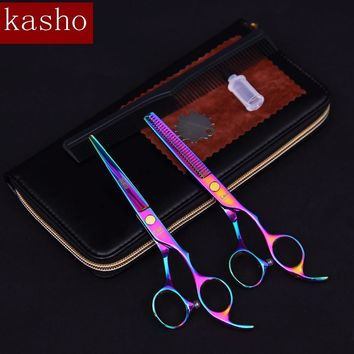 "6.0""set professional hairdressing scissors hair cutting scissors barber scissors thinning shears hair cut for hairdresser"