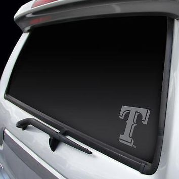 Licensed Texas Rangers Official MLB Window Decal by Rico Industries 398460 KO_19_1