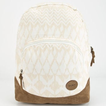 Roxy Lately Ikat Backpack Ivory One Size For Women 24812716001