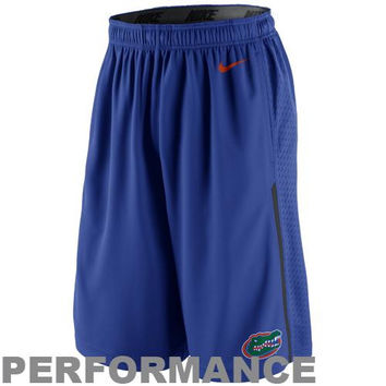 Nike Florida Gators Dri-FIT Speed Fly Performance Shorts - Royal Blue