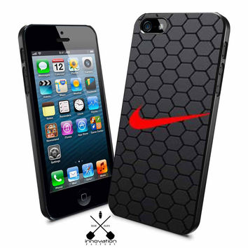 Nike Black hexagon iPhone 4s iphone 5 iphone 5s iphone 6 case, Samsung s3 samsung s4 samsung s5 note 3 note 4 case, iPod 4 5 Case