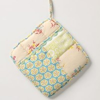 Sewing Basket Potholders by Anthropologie Multi One Size Kitchen