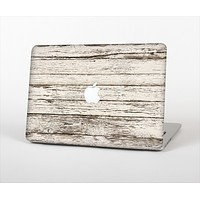 """The White Painted Aged Wood Planks Skin Set for the Apple MacBook Air 11"""""""