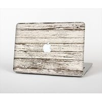 "The White Painted Aged Wood Planks Skin Set for the Apple MacBook Pro 13"" with Retina Display"