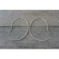 Circle & Square | Leah Earrings