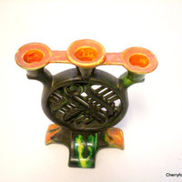 Art Nouveau candle holder. Germany ,late 1800's-early 1900's.