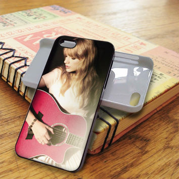 Taylor Swift Guitar Red iPhone 5C Case