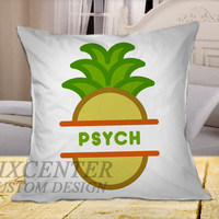 psych on Square Pillow Cover