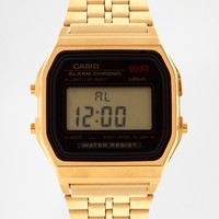 Casio A159WGEA-1EF Gold Digital Watch