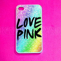 iphone 4 Case, iPhone 4s case - cute Love Pink  iPhone 4 Cases, Iphone 4s Cover,Case for iPhone 4