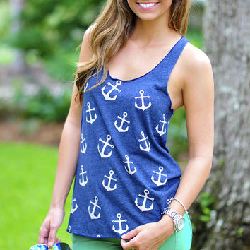 Dealing With Anchors Tank: Navy | Hope's