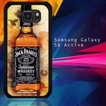 Jack Daniels Drinks W4917 Samsung Galaxy S6 Active  Case