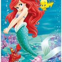 5D Diamond Painting Ariel & Flounder Kit