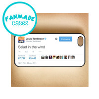 Salad in the wind Tweet iPhone 4/4s/5/5s/5c/6/6 Plus, iPod 4/5, Samsung Galaxy s3/s4/s5 Rubber Case by FanMadeCases