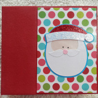 6x6 Christmas Scrapbook Photo Album