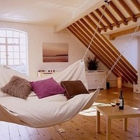 indoor big hammock