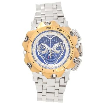 Invicta 16808 Men's Venom Hybrid Chronograph Blue Dial Steel Bracelet Dive Watch