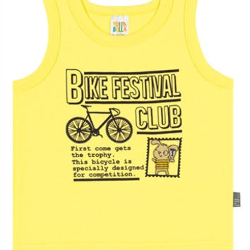 Bicycle Muscle T-shirt- Baby