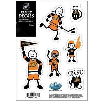 DCCK8X2 NHL Team Family Decal Set Small