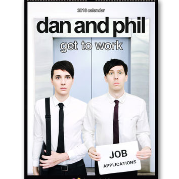 Official Dan and Phil 2016 Calendar