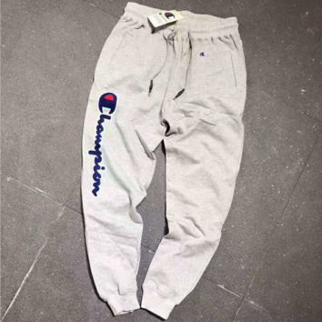 Champion Stretch Leggings Sweatpants Exercise Fitness Sport Nine points Pants Trousers G-A-GHSY-1
