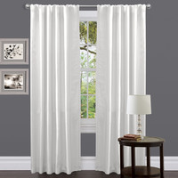 Venetian White Window Curtain