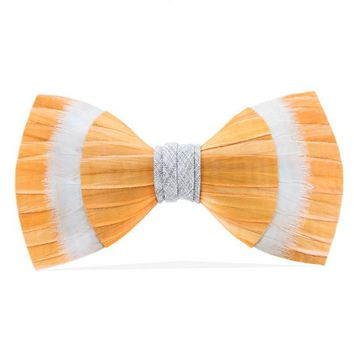 Brackish, Rocky Top Bow Tie, Partridge/Pheasant Feathers