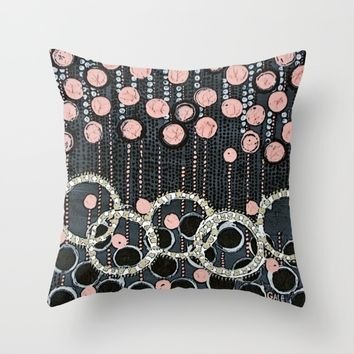 :: Her Pearls :: Throw Pillow by :: GaleStorm Artworks ::