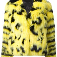 VERSACE fox fur jacket