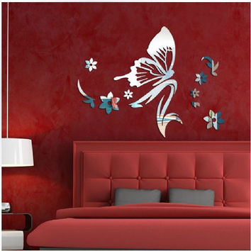 Beauty Wall Sticker Acrylic Bedroom Decoration Toddler = 4849744516